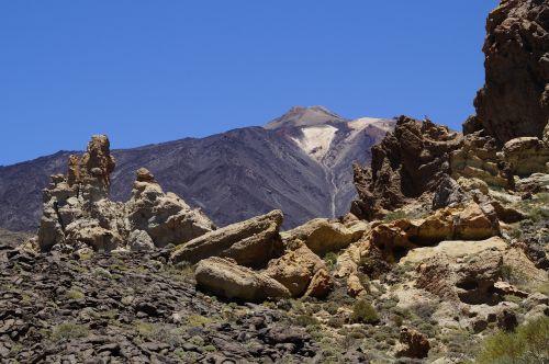 Teide nacionalinis parkas,Nacionalinis parkas,Rokas,uolienos formacijos,Tenerifė,Kanarų salos,teide,nacionalinis parkas teide,Ispanija,gamta,kalnas,vulkanas,kraštovaizdis,žygis,užteršimas,Karg,el teide,aukščiausių kalnų,uolos