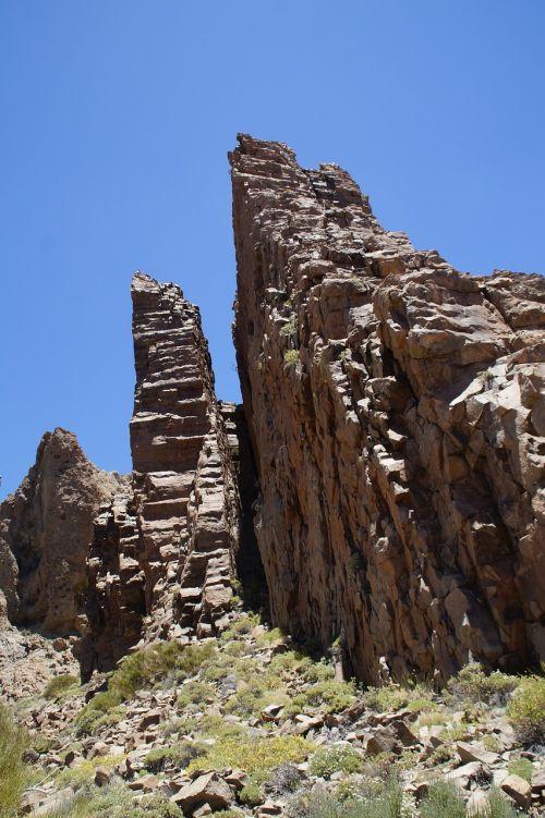 Teide nacionalinis parkas,Nacionalinis parkas,Rokas,uolienos formacijos,Tenerifė,Kanarų salos,nacionalinis parkas teide,Ispanija,gamta,kraštovaizdis,uolos,erozija,siena,žinoma