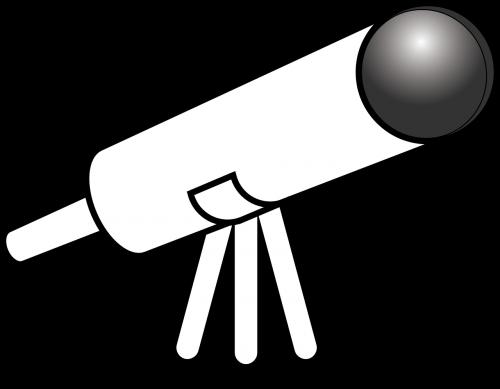 teleskopas,didina,arčiau,padidinamas,naktis,dangus,žvaigždės,žvaigždė,nemokama vektorinė grafika