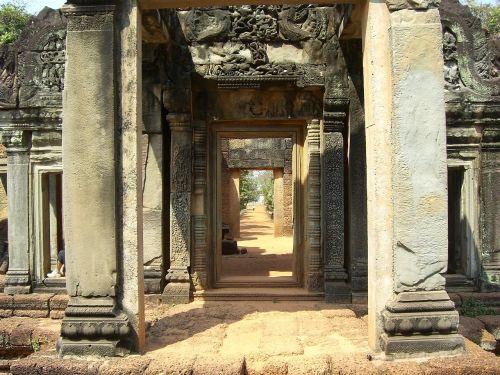 šventykla,religija,Kambodža,angkor wat,pasaulinis paveldas,sugadinti