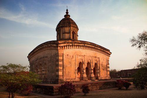 šventykla,Indijos šventykla,terakotos šventykla,bishnupur šventykla