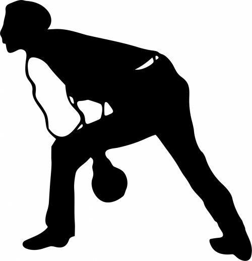 Iliustracijos, clip & nbsp, menas, grafika, iliustracija, juoda & nbsp, balta, vintage, viešasis & nbsp, domenas, piešimas, Sportas, žaidimai, poilsis, laisvalaikis, žmonės, asmuo, vyras, Patinas, boulingas, dubenys, dešimt & nbsp, pin & nbsp, boulingo, bouleris, dešimt penkių boulingo