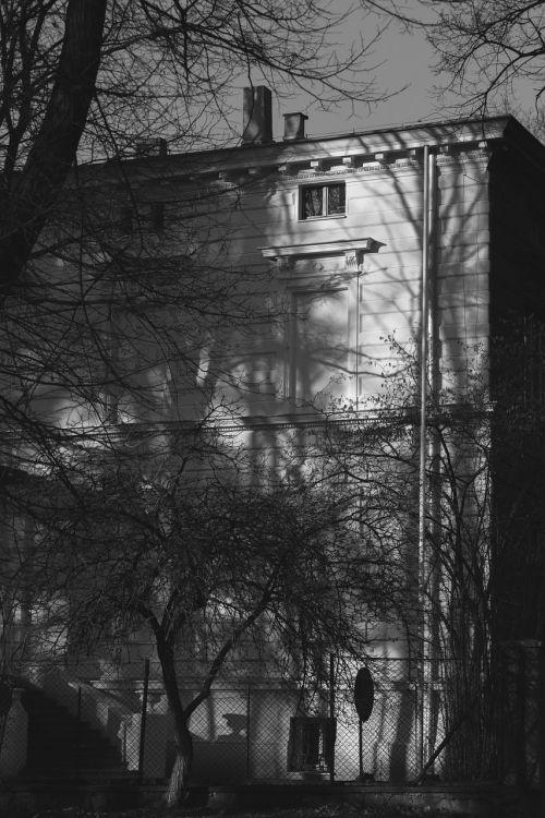 Būstas,namas,butas,bw,šešėliai,lodz,Lenkija,Lenkija