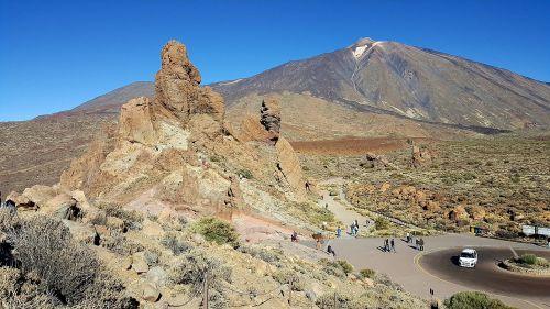 Tenerifė,teide,Kanarų salos,gamta,Teide nacionalinis parkas,vulkanas,el teide,nacionalinis parkas teide,kalnas,Rokas,kraštovaizdis,perspektyva