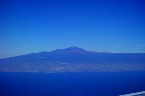 Tenerifė,teide,kalnas,vulkanas,pico del teide,el teide,Kanarų salos,Ispanija,sala,skristi,oro vaizdas