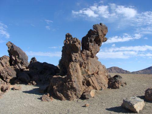 Tenerifė,kalno teide,gamta