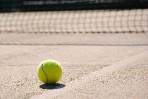 tenisas,rutulys,teniso aikštelė,teniso kamuoliukas,Sportas