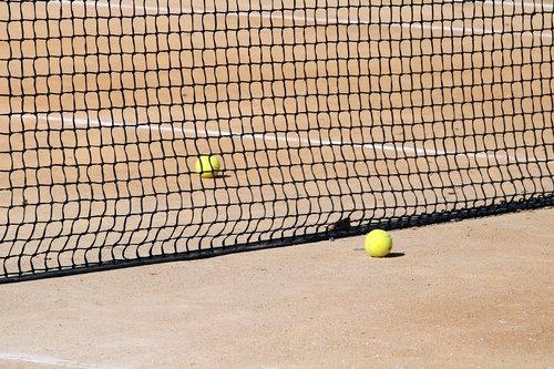 tenisas, teniso kortai, Sportas, pratimas, rutulinis, teniso kamuoliukas, kailis, tinklas, linija