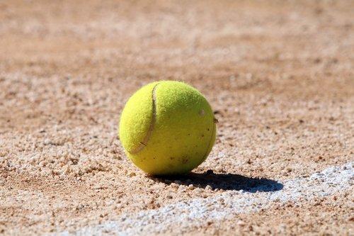 tenisas, teniso kortai, Sportas, pratimas, rutulinis, teniso kamuoliukas, kailis, linija