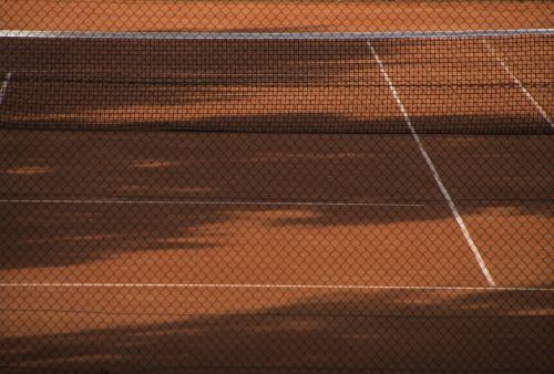 teniso aikštelė,Sportas,tenisas,molio kiemas,raudona,eingezeunt,už kliūčių,izoliavimas,lauko tenisas,fitnesas,sporto šakos,per,mokymas,smėlis,žaisti,in