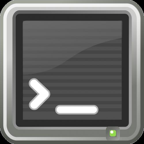 Terminalas, Konsolė, Lukštas, Cmd, Dos, Linux, Operacinė Sistema, Freedos, Žymeklis, Įvestis, Nemokama Vektorinė Grafika