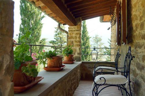 terasa,kraštovaizdis,kotedžai-poilsio nuoma,Toskana