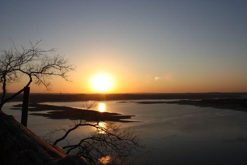 texas,saulėlydis,ežeras,texas kraštovaizdis,twilight,dusk,miesto,vaizdingas