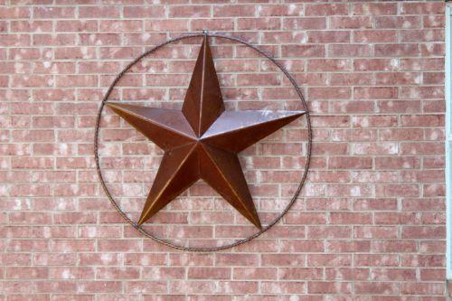 texas, žvaigždė, metalas, plyta, ratas, penki, punktas, Texas žvaigždė