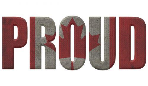 tekstas,3d tekstas,Šalis,vėliava,pasididžiavimas,didžiuojasi,Tautybė,Kanada