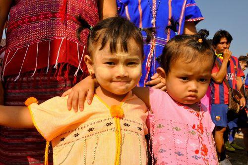 tajų žmonės,karen,vienybė