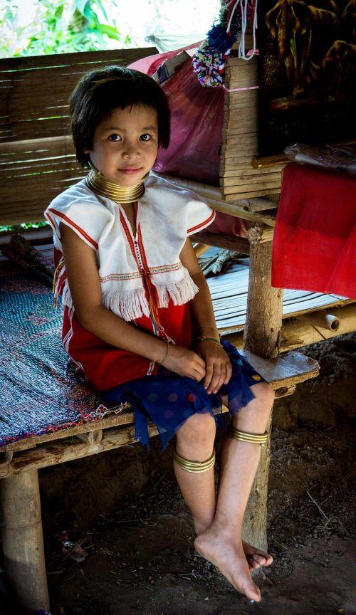 Tailandas,Šiaurė,asija,kelionė,kultūra,tajų,turizmas,kalnas,Chiang Mai,ilgas kaklas,moterys
