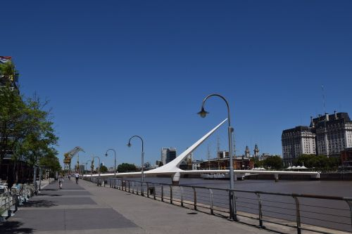 moters tiltas,Buenos Airės,puerto madero