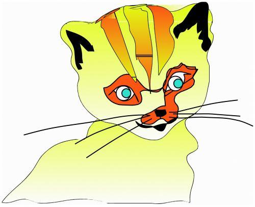 katės gyvenimas, eskizas, iliustracija, katė, naminis gyvūnėlis, gyvūnas, lenktynės, plėšrūnas, medžiotojas, užsispyręs, paliesti, įvedimas, gyvenimas, žaismingas, subraižyti, katės akys, uodega, spalvos, katės gyvenimas 3