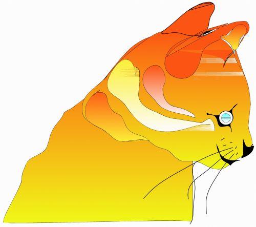 katės gyvenimas, eskizas, iliustracija, katė, naminis gyvūnėlis, gyvūnas, lenktynės, plėšrūnas, medžiotojas, užsispyręs, paliesti, įvedimas, gyvenimas, žaismingas, subraižyti, katės akys, uodega, spalvos, katės gyvenimas 4