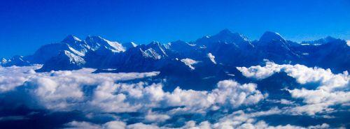 Himalajus,panorama,kalnai