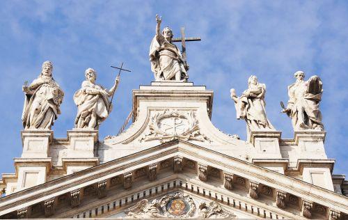 laterano bazilika,Roma,pastatas,italy,architektūra,lankytinos vietos,bažnyčia,fasadas,Romos lankytinos vietos,turizmas