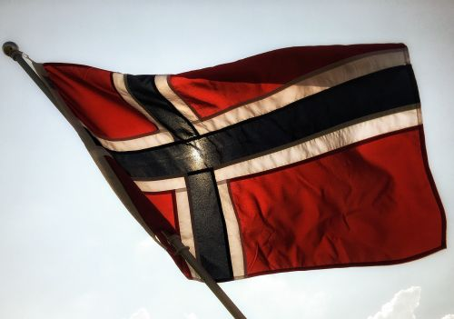 Norvegijos vėliava,musia,vėliava svirtis,vėliava,nordic,Norvegija,simbolis