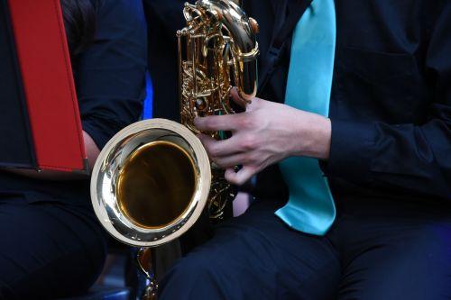 grupė, instrumentas, trombonas, Žalvaris, muzika, žaisti, grupė, berniukas, žaidėjas