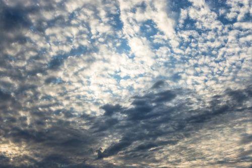 dangus,debesų danga,debesys,oras,vasara