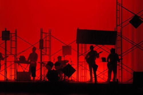 teatras,įdėti į sceną,muzika