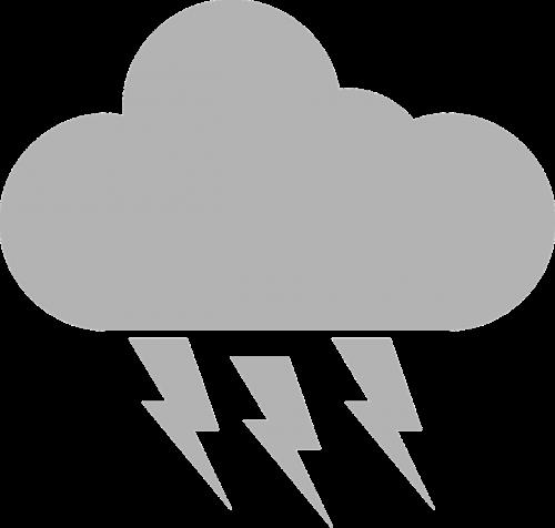 griauna,giedras,griauna,debesis,audra,oras,nemokama vektorinė grafika