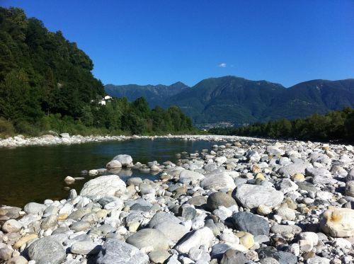 Ticino, Upė, Akmenys, Kalnai, Alpių