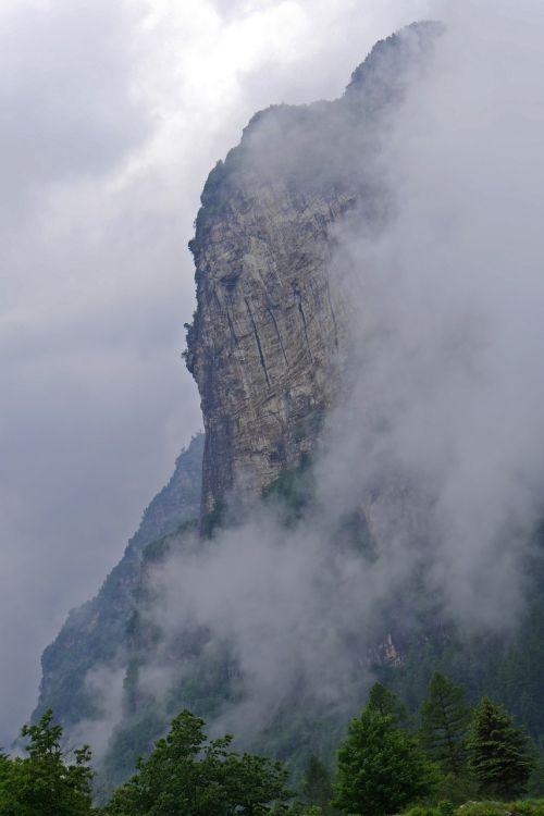Ticino, Kraštovaizdis, Rūkas, Kalnai