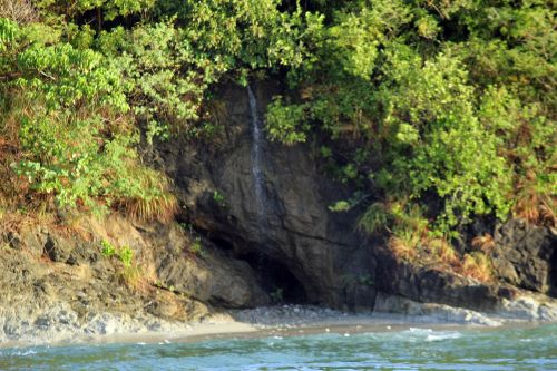 kriokliai, vanduo, kalnas, medžiai, žalias, augalai, jūra, akmenys, mažos kriokliai kalne
