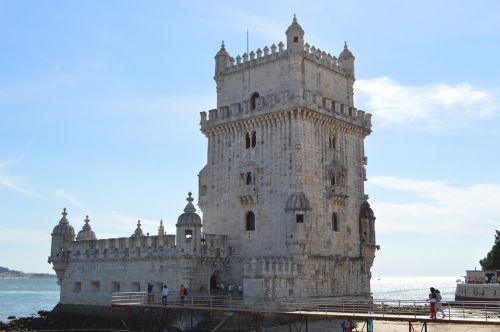 Bokštas, Apie, Bethlehem, Lisbonas, Portugal, Paminklas, Numatytoji Dos Descobimentos