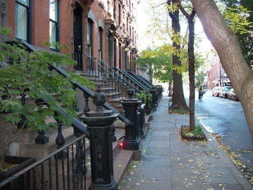 Miesto Namai, Serijiniai Namai, Miesto, Gatvė, Miestas, Namai, Pastatai, Architektūra, Plytų Sienos, Plytų Namai