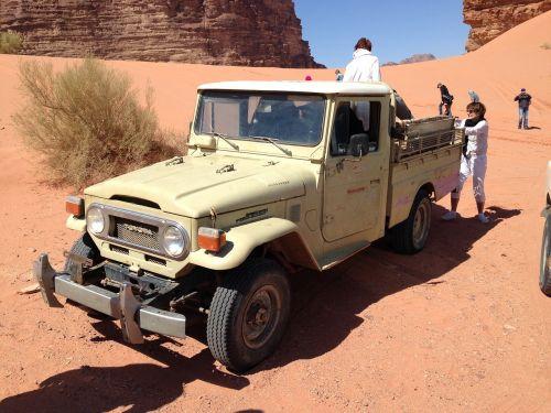 Toyota, Žemė, Roveris, Dykuma, Jordan, Beduinas, Wadi Rum