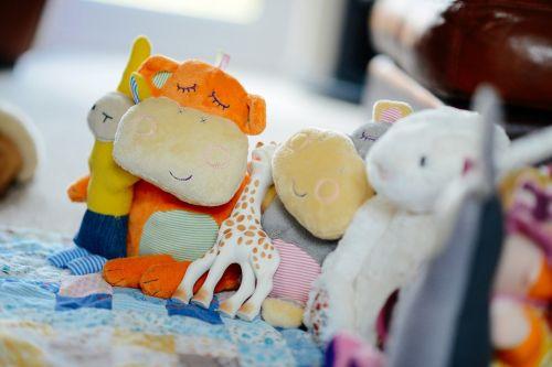 žaislai,linksma,įdaryti,kelios,gyvūnai,pliušas,mielas,vaikystę,linksma,minkštas,žaisti,vaikai
