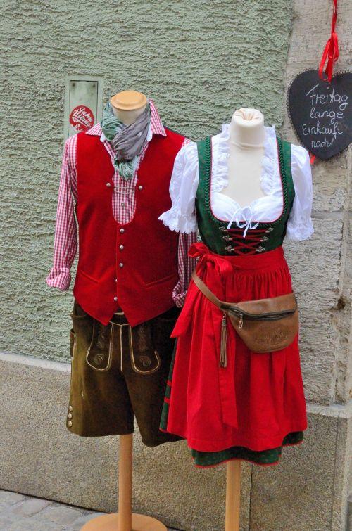 tradicinis, Bavarian, kostiumas, liaudies & nbsp, kostiumas, liaudies, suknelė, bavarija, bayern, Vokietija, istorinis, tradicinis bavarų kostiumas