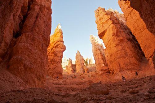Bryce, Bryce & nbsp, kanjonas, Bryce & nbsp, kanjonas & nbsp, nacionalinis & nbsp, parkas, kanjonas & nbsp, žemė, kanjonai, uolos, atstumas, erozija, geologija, auksinis, aukštumas, hoodoos, nacionalinis & nbsp, parkas, natūralus, atviras, oranžinė, nepastebėti, panorama, panoraminis, roko & nbsp, susivienijimai, vaizdingas, vaizdingas & nbsp, pamiršti, aukštas, traukti uolą