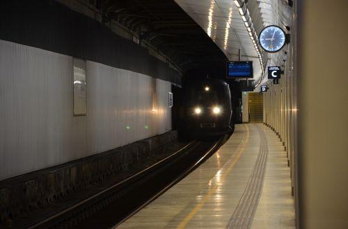 Traukinys, Traukinių Stotis, Sm, Platforma