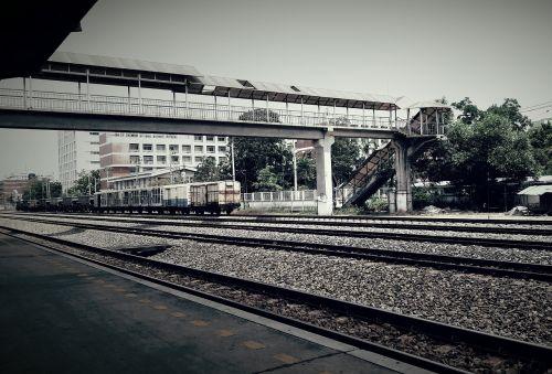 Traukinys, Tailandas, Asija