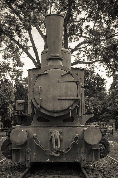 traukinys, muziejus, juodos spalvos, baltos spalvos, lokomotyvų, nostalgija, geležinkelio, variklis, garai, Turizmas, nostalgija, Loco