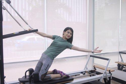 mokymas, Pilates, sportuoti, sveikatingumo, fitnesas