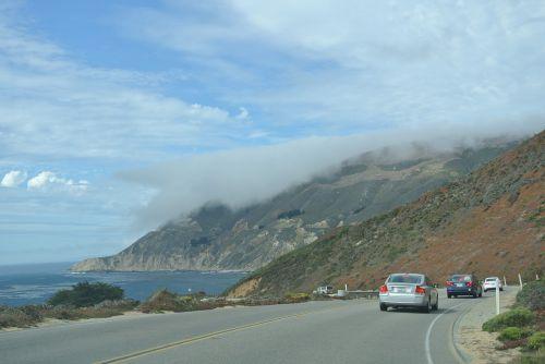 transpacific,greitkelis,didelis sur,1 maršrutas,vairuoja,keliauti,kelionė,vaizdingas maršrutas