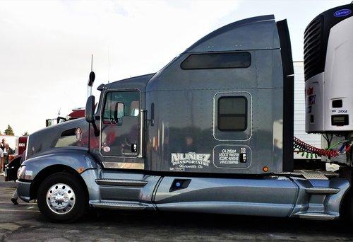 transportas, automobilių, transporto priemonės, Sunkvežimis, automobilių stovėjimo aikštelė, Sunkvežimis Sunkvežimis, Amerika, Sunkvežimis Amerikos, chromas