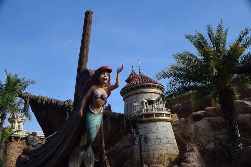 kelionė, architektūra, skulptūra, undinė, maža undinė, pilis, laivas, be honoraro mokesčio