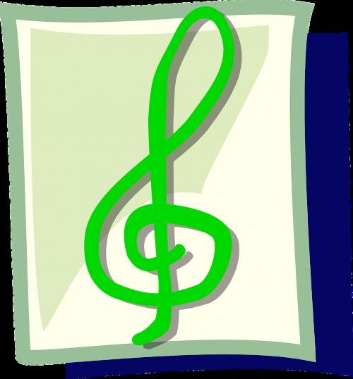 treble clef,g clef,muzikinė pastaba,muzika,žalias,simbolis,muzikinis,pastaba,nemokama vektorinė grafika