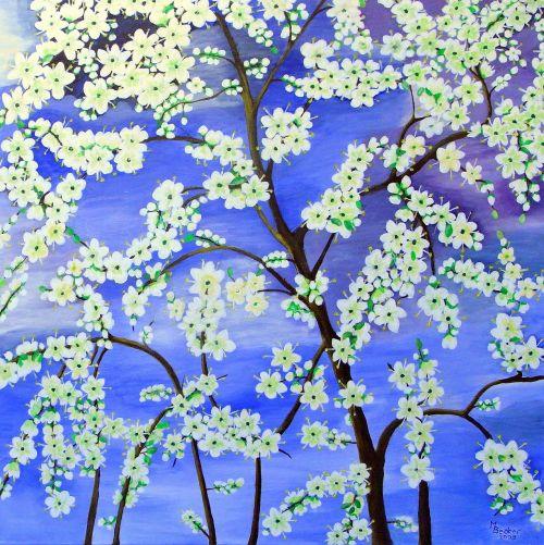 medis,gėlės,dažymas,vaizdas,menas,dažyti,spalva,meniškai,paveikslų tapyba,menininkai,kompozicija,kūrybiškumas,meno kūriniai,amatų,drobė,dailininkas,kilniai,grafinis,augalas