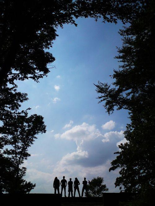 medis,gamta,kraštovaizdis,siluetas,panorama,dangus,grupė,grupė,muzikos grupė,muzikos grupė,juostos nuotrauka,Rokas